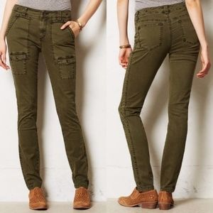 Pilcro and the Letterpress Tiri Pants Cargo Style